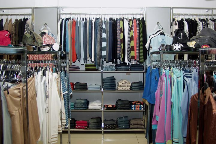 вешала в магазин одежды