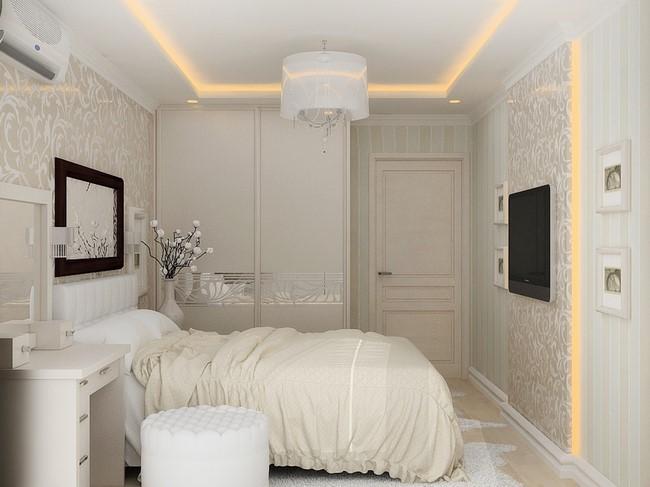 дизайн маленькой спальни купить мебель для маленькой спальни